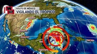 Golfo de México en alerta ante posible depresión tropical