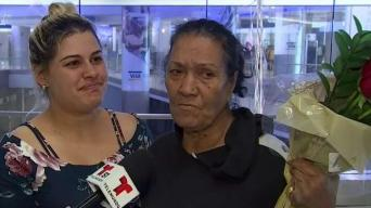 Cubana llega a EEUU tras deportación