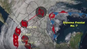El poderoso huracán Willa acecha México
