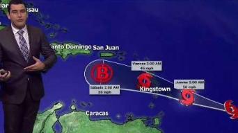 Se regenera la tormenta Kirk en el Caribe