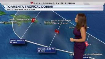 Tormenta Dorian podría convertirse en huracán la próxima semana