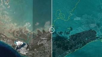 Bahamas: imágenes del antes y después del huracán Dorian