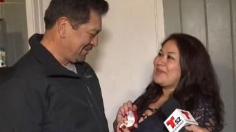 Mujer le pide matrimonio a su novio ante las cámaras y él le da tremenda sorpresa