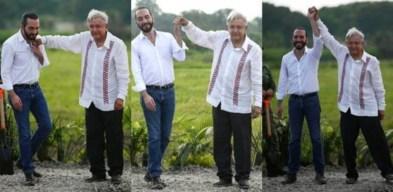"""Bukele hace viral el """"derechazo"""" que le propinó AMLO"""