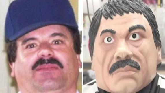 """""""El Chapo"""" está de moda con su rap y disfraz"""