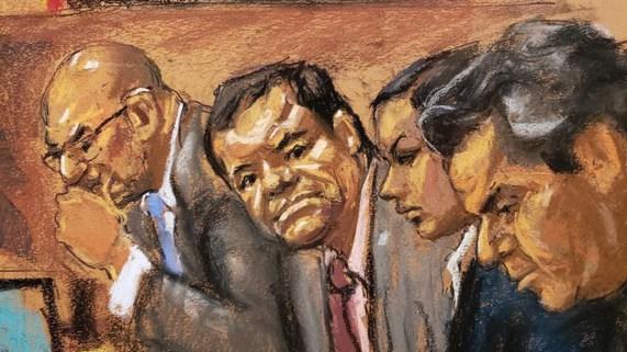 """""""El Chapo"""" Guzmán le dijo al juez que no testificará"""