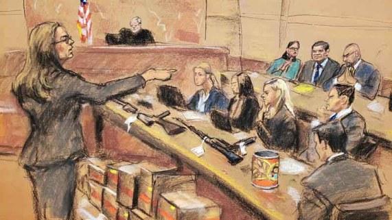 """Juicio contra """"El Chapo"""": llega el momento de decisión"""