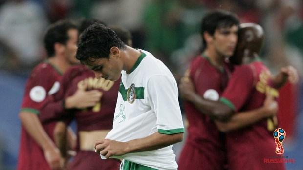 México empata a dos con Portugal en la Copa Confederaciones