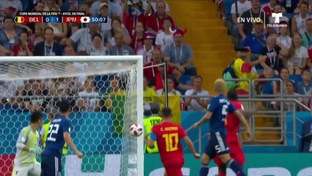 [World Cup 2018 PUBLISHED] Poste le dice no a remate de Eden Hazard y al empate de belga