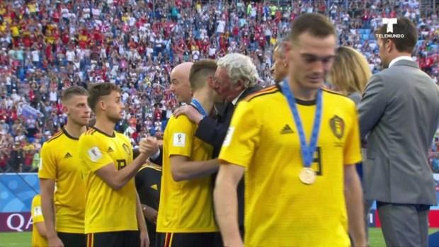 [World Cup 2018UPDATED] Gran celebración de Bélgica al ganar el 3er. puesto ante Inglaterra