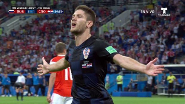 [World Cup 2018 PUBLISHED] Andrej Kramarić de cabeza pone empate transitorio ante Rusia