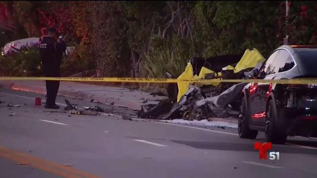 [TLMD - MIA] Accidente deja dos muertos y un herido en Fort Lauderdale
