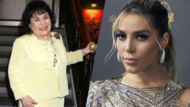 Carmen Salinas le ofrece amor de madre a Frida Sofía
