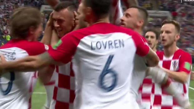 De infarto: Croacia empata con gol de pelicula