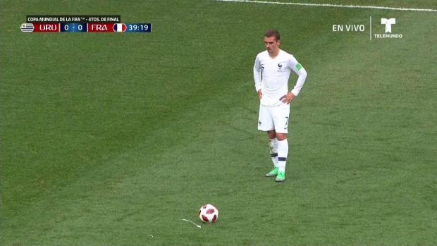 [TLMD - LV] Francia marca primero y se va arriba sobre Uruguay