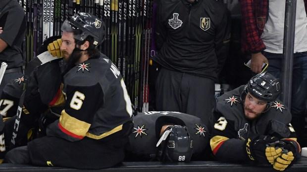 Golden Knights pierden la copa Stanley en Las Vegas