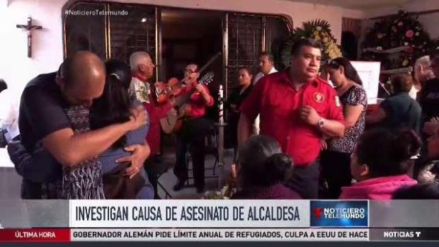 [TLMD - MIA] Investigan causa de asesinato de alcaldesa mexicana