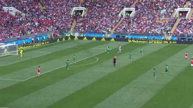 [World Cup 2018 PUBLISHED] Dzagoev se lesiona y es sustituido por Cheryshev