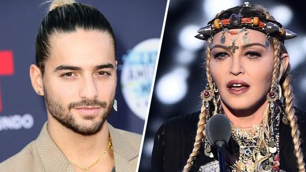 """Maluma se deja seducir por Madonna y preparan """"fuego"""""""