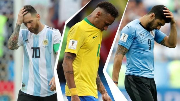Campeones caídos: los titanes que quedaron fuera del Mundial