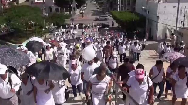 [TLMD - MIA] Mexicanos protestan contra matrimonio igualitario