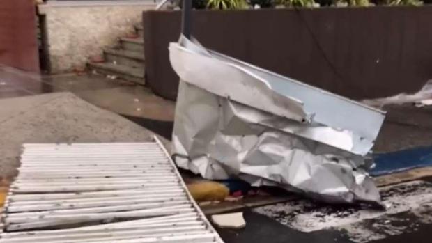 República Dominicana recibe los efectos del huracán María