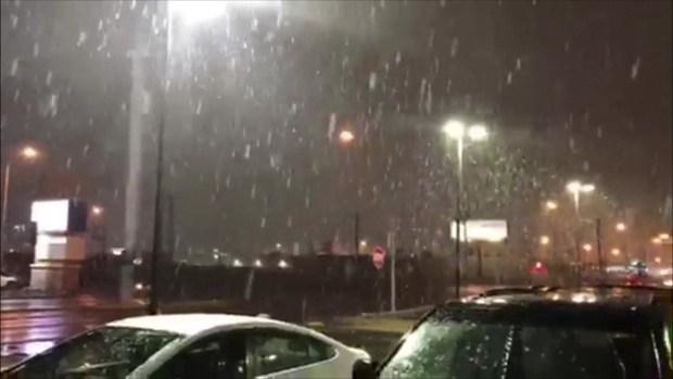 [TLMD - LV] Cae la nieve en Las Vegas como hace más de 10 años