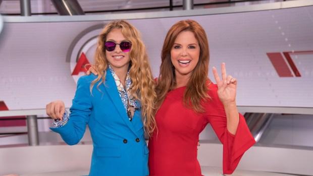 """Paulina Rubio funge como madrina de la nueva etapa de """"Al rojo vivo"""""""