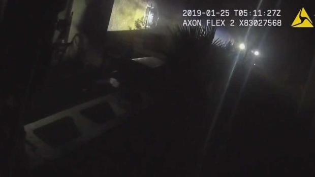 [TLMD - LV] Video muestra tiroteo con la policía en donde muere hombre