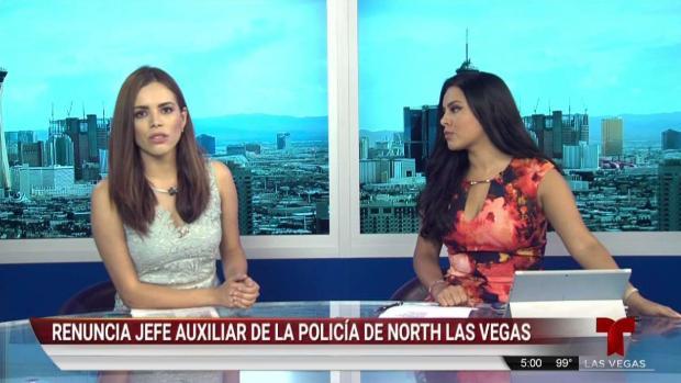 [TLMD - LV] Renuncia jefe auxiliar de policía de North Las Vegas