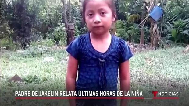 [TLMD - NATL] Revelan últimas horas de vida de la niña migrante