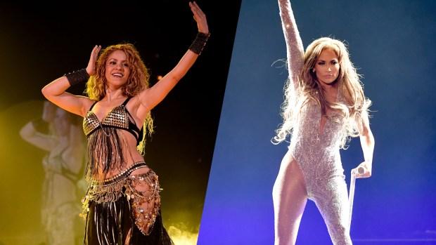 Encuesta: ¿Quién mueve mejor las caderas, Shakira o Jennifer López?