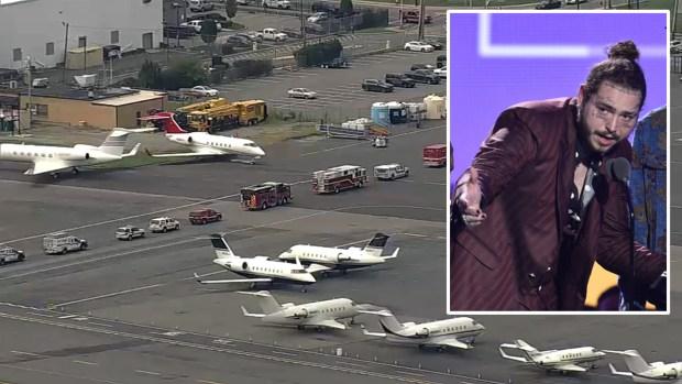 Terror en las alturas: jet de lujo habría perdido llantas frontales