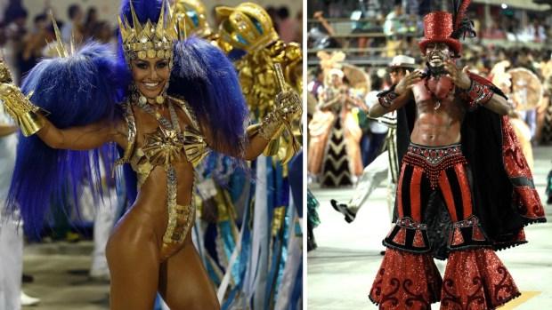 Carnaval de Río: otra noche de derroche sensual y festivo