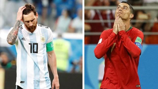 La lista cruel: astros que no pudieron ganar un Mundial, ¿Messi y Ronaldo igual?