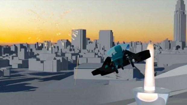 [TLMD - NATL] SkyDrive, el auto volador para encender la llama olímpica