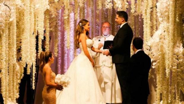 Sofía Vergara y Joe Manganiello: su boda de ensueño