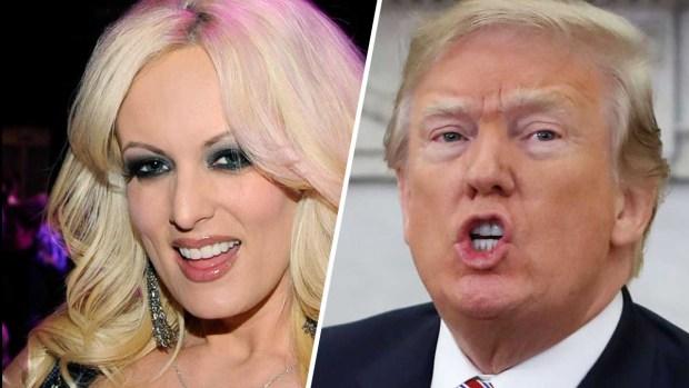 Actriz porno se burla de Trump en programa de televisión