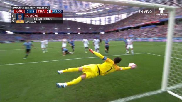 [World Cup 2018 PUBLISHED] ¡Manotazo milagroso! Francia se salva de gol uruguayo