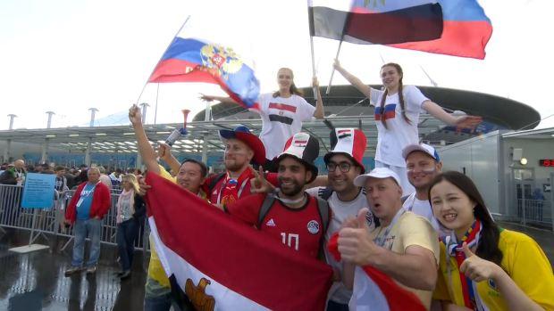 [World Cup 2018] Marco espectacular en el Rusia Vs Egipto