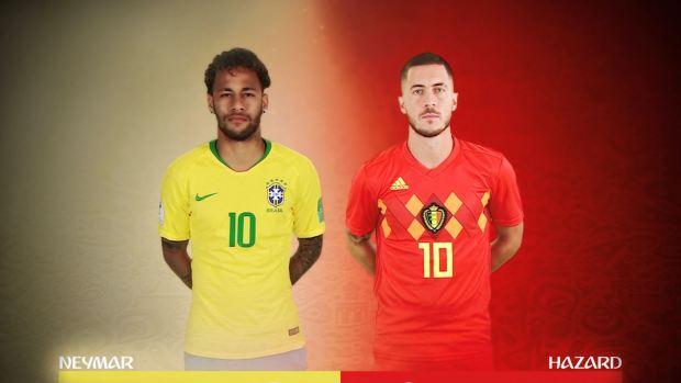 [World Cup 2018 PUBLISHED] Eden Hazard vs Neymar, un duelo de titanes