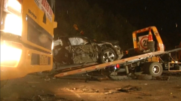 [TLMD - LV] Sangriento accidente en autopista de China