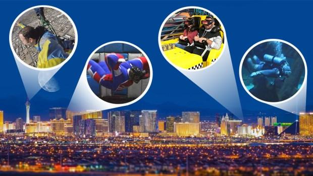 [TLMD - LV] ¿Qué hacer además de apostar? Las Vegas ofrece actividades con adrenalina