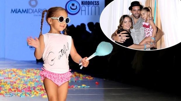 ¡Qué ternura! La hija de Adamari se roba el show y pavonea la pasarela del Miami Fashion Week
