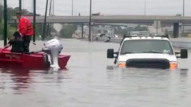 Impresionante destrucción deja Harvey a su paso