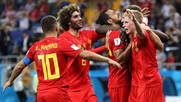Bélgica anota de nuevo y empata el juego