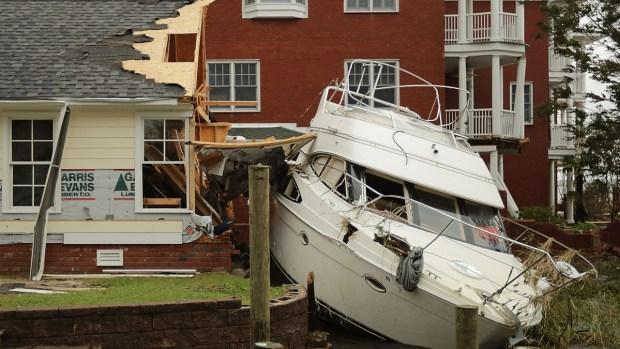 La catástrofe después de las lluvias: muerte y destrucción