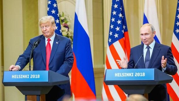 Trama rusa domina conferencia de prensa de Trump y Putin