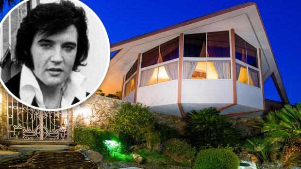 """Por dentro: la mansión """"escondite"""" de Elvis en el desierto"""