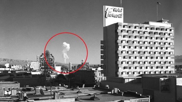 Explosiones atómicas: atracción que Las Vegas usó para atraer turismo